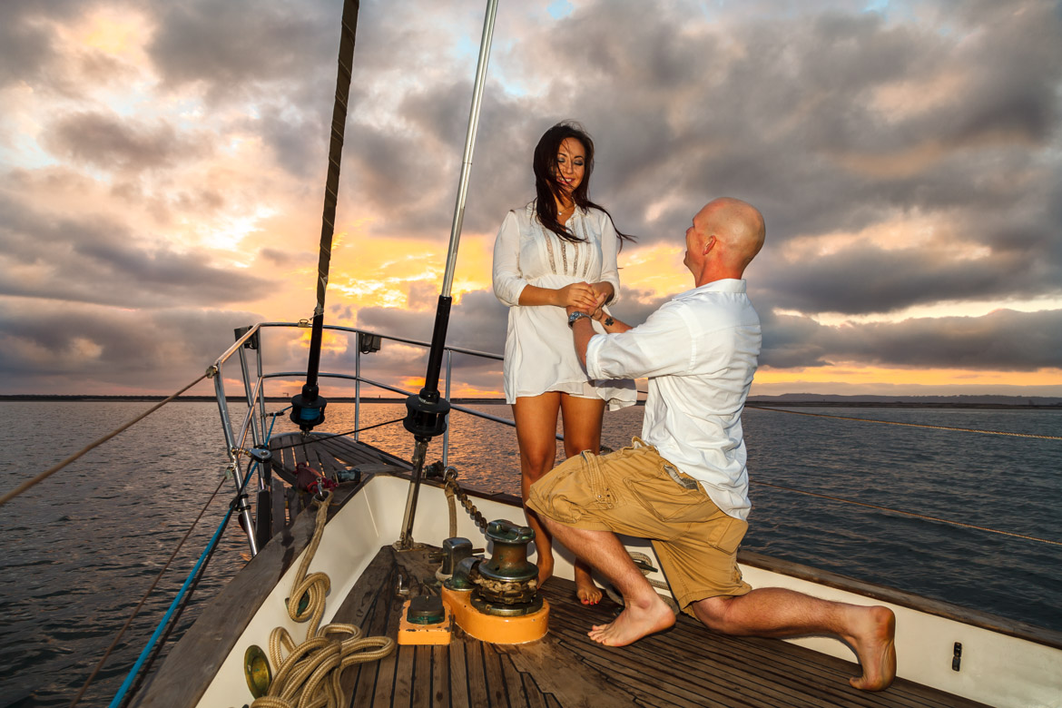 Best Proposal Idea In San Diego Propose Marriage On Yacht